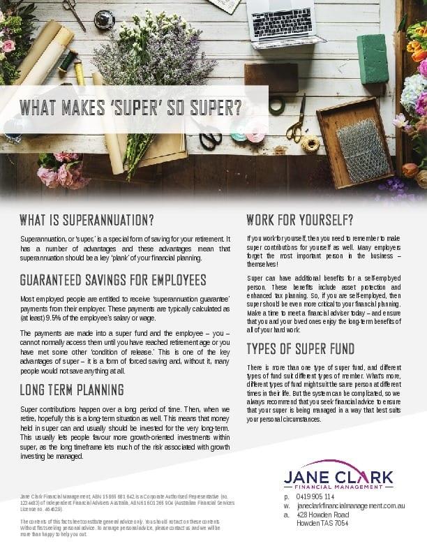 What makes super super
